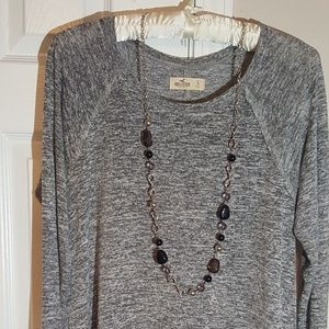 Hollister high low tunic